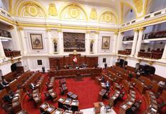 Congreso confirma que Semana de Representación se realizará del 25 al 29 de enero