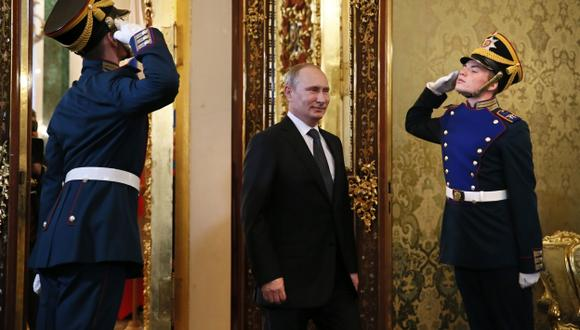 EN LA CIMA. Putin ha consolidado su poder en Rusia y en el mundo. (AFP)