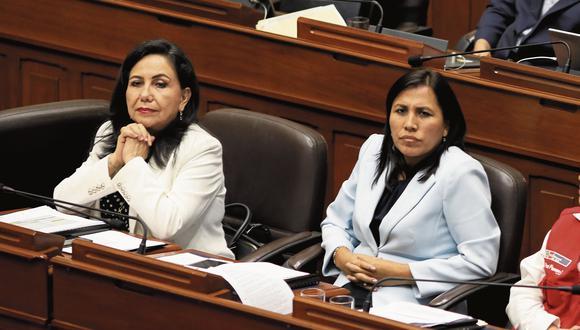 Gloria Montenegro y Flor Pablo vuelven a la política activa (GEC).