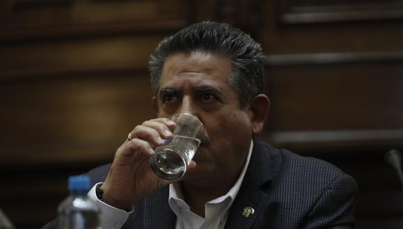 El presidente del Congreso, Manuel Merino, podría reemplazar a Vizcarra si este es vacado (Foto: Grupo El Comercio)