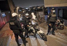 Distribuyeron 800 mil mascarillas a policías peruanos para prevenir contagios del COVID-19