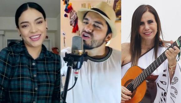 Cielo Torres, Julie Freundt y más artistas colaboran para lanzar una canción de esperanza frente al coronavirus. (Foto: Captura)