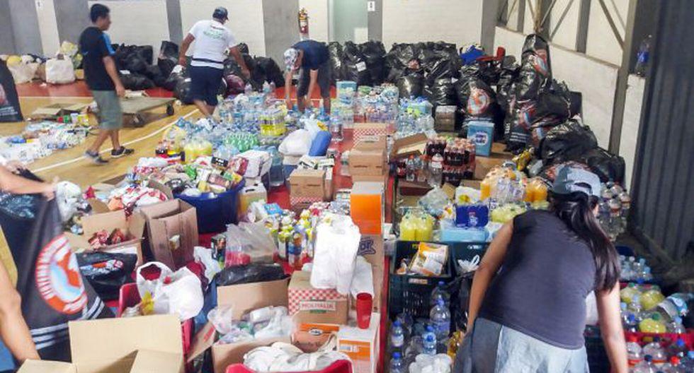 Las facilidades son para promover la donación de alimentos (Produce/Referencial)