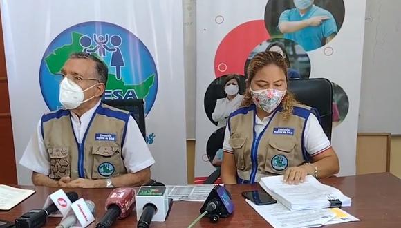Ucayali: Diresa se defiende por escándalo de vacunas y descarta un 'vacunagate' (Foto: captura de pantalla | Diresa)