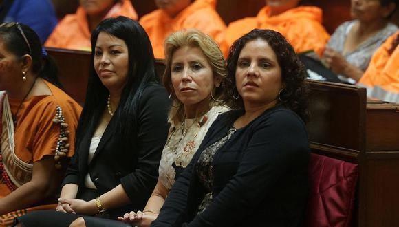 Cuando todo era armonía. Sandra Castro y Rocío Sánchez pusieron encima del trabajo sus diferencias. (GEC)