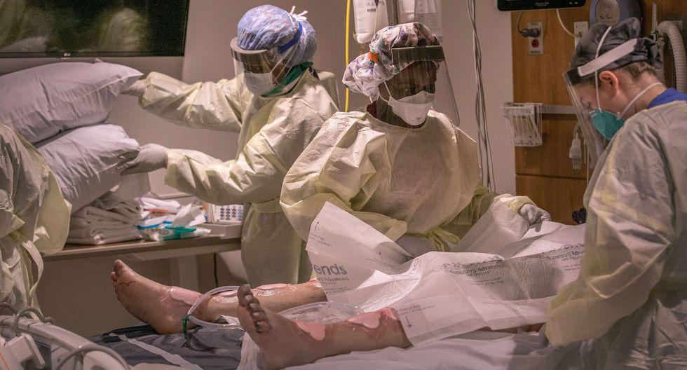 Coronavirus: el número de casos supera los 4 millones a nivel mundial, según UJH. (Foto: John Moore/AFP).