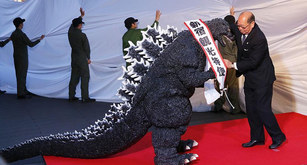Godzilla fue nombrado embajador turístico de la ciudad de Tokio. (AP)