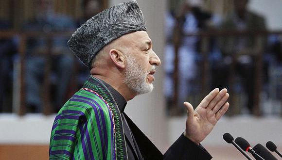 Hamid Karzai, presidente de Afganistán. (AP)