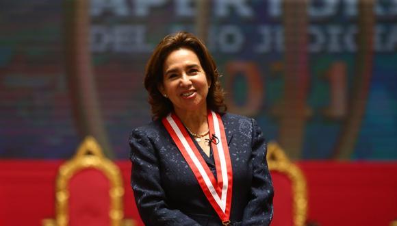 Elvia Barrios es la presidenta del Poder Judicial. (GEC)