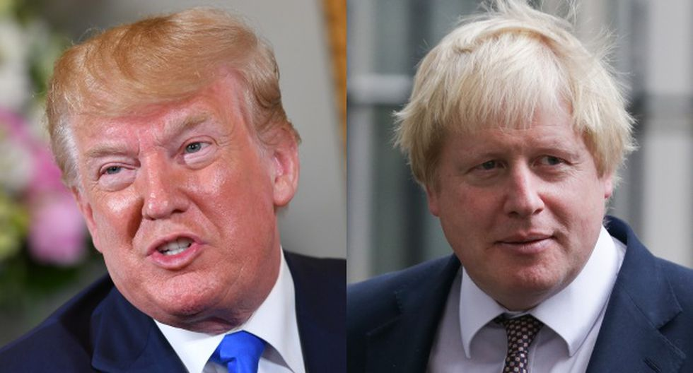"""Según experto, Johnson y Trump tienen personalidades similares y comparten un desdén por la ideología. """"Ninguno de ellos se preocupa tanto de los asuntos como se preocupan por ellos mismos"""", afirma. (Foto: AFP)"""
