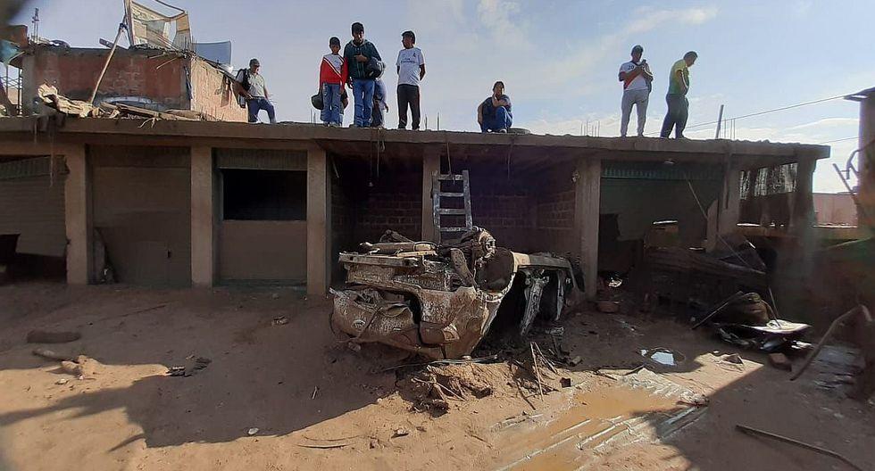 Huaico deja tres personas fallecidas y una veintena de heridos en Tacna