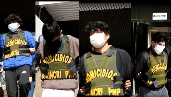 Los cuatro sujetos son sindicados de haber asesinado a tres de las cinco víctimas del ataque en Ancón.