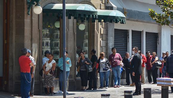 México reporta un acumulado de 5.847 contagios con 449 muertes por el COVID-19. (GETTY)