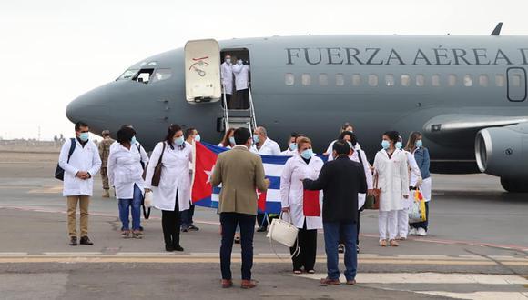 El gobernador de Moquegua, Zenón Cuevas, confirmó que las brigada cubana recibe USD 2,000 de compensación.