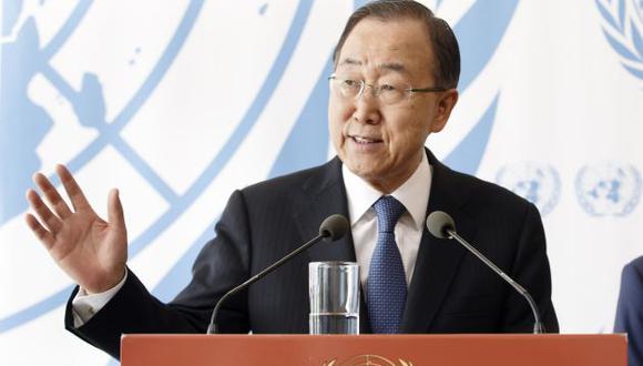 El secretario general de la ONU, Ban Ki-moon, pidió el diálogo entre la oposición venezolana y el presidente Nicolás Maduro. (AP)