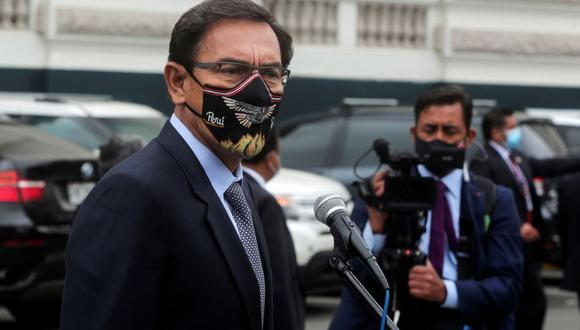 Martín Vizcarra fue excluido de la carrera electoral por omitir información en su hoja de vida. (Foto: Sebastián Castañeda / GEC)