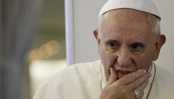 El Papa Francisco habló sobre la guerra y la crueldad. (AP)