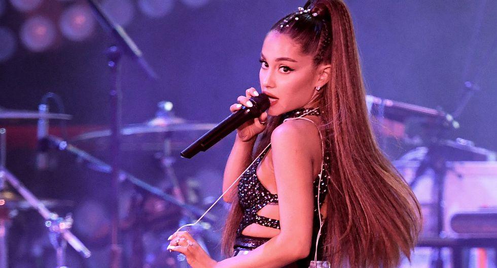 Ariana Grande regresó a Manchester después de dos años del atentado y ofreció un espectacular show. (Foto: AFP)