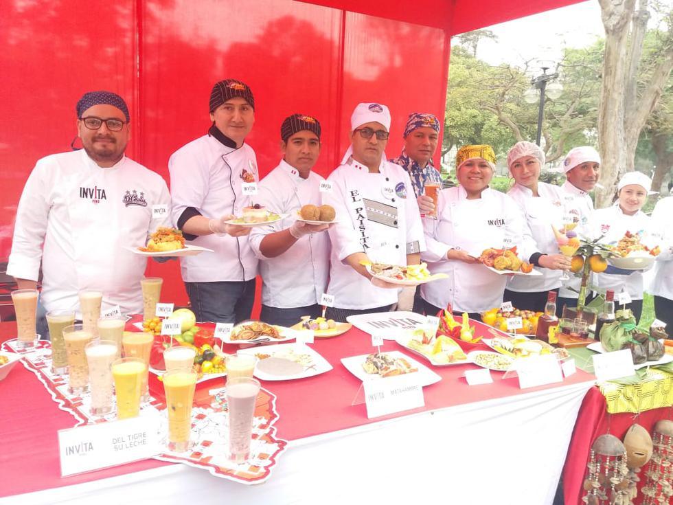 Fiestas Patrias: Feria gastronómica Invita Perú regala 1,000 platos típicos peruanos al público. (Difusión)