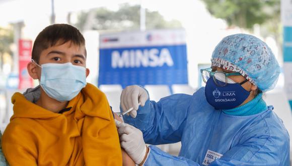 A la fecha el Perú viene vacunando a personas mayores de 18 años, y a menores entre 12 y 17 años con comorbilidades. (Foto: Minsa)