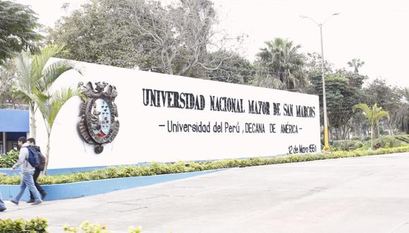 Universidad Nacional Mayor de San Marcos. (Foto: Mario Zapata)