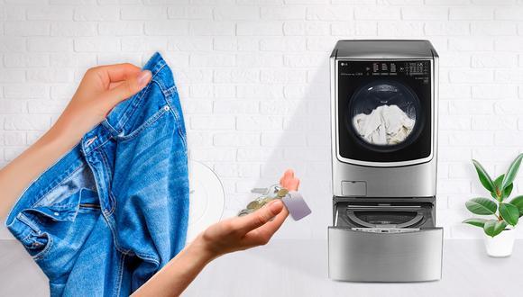Meter monedas, llaves y otras cosas podrían dañar nuestra lavadora. (Foto: Difusión)