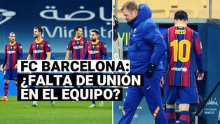 FC Barcelona: la imagen que refleja la desunión azulgrana tras la derrota por la Supercopa frente al Athletic Club