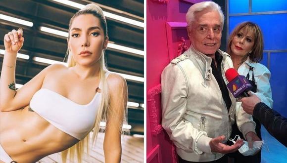 Frida Sofía ha acusado a su abuelo Enrique Guzmán públicamente de abuso sexual. (Foto: Instagram @ifridag / @eguzmanoficial).