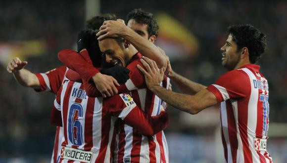 Atlético de Madrid goleó 4-0 a la Real Sociedad. (AP)