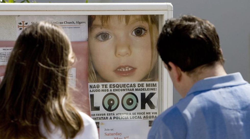 Policía ha identificado a un sospechoso en el caso de Madeleine McCann. (Foto: AFP)
