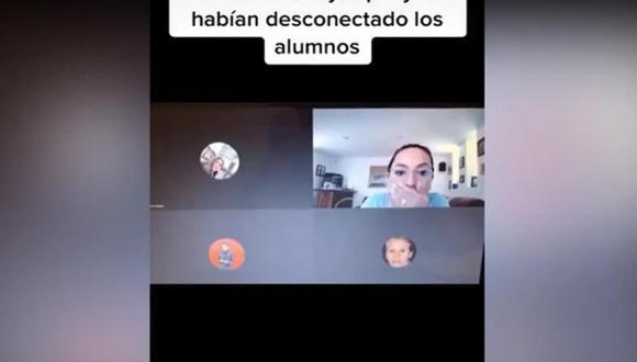 Maestra insultó a sus alumnos y se hizo viral. (Foto: Captura de pantalla)
