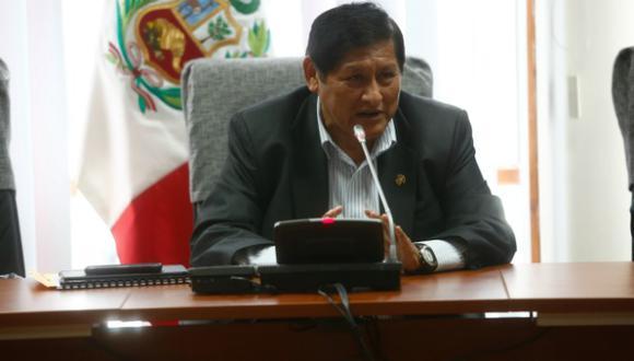 Juan Pari aún no conoce la fecha del viaje. (Perú21)