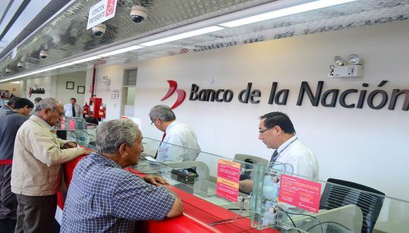 Congreso aprobó el 12 de junio la apertura automática de cuentas de ahorro en el Banco de la Nación. (FOTO: GEC)