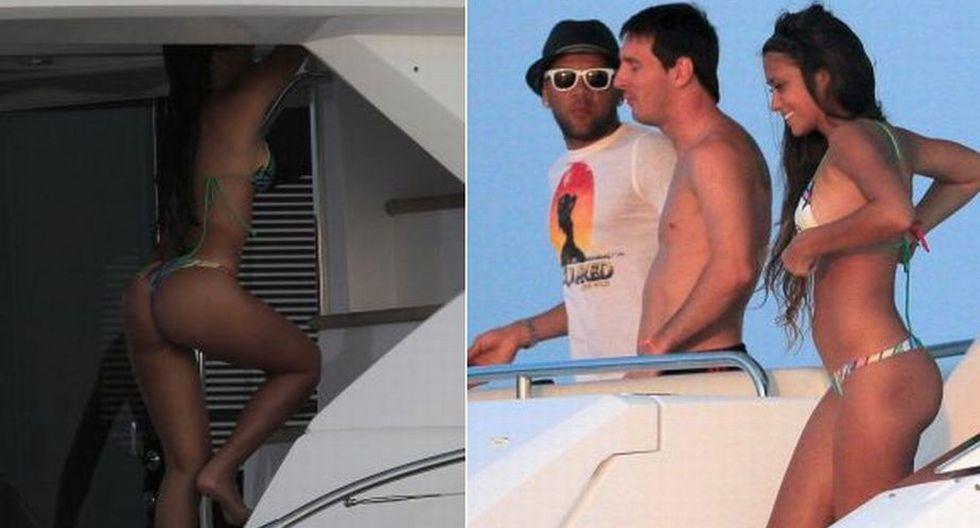 Antonella Roccuzzo no es modelo, pero tiene una figura de infarto. Es novia de Lionel Messi y tienen un hijo llamado Thiago. Actualmente, la 'Pulga' gana US$41 millones anuales y los comparte con ella. (Internet)