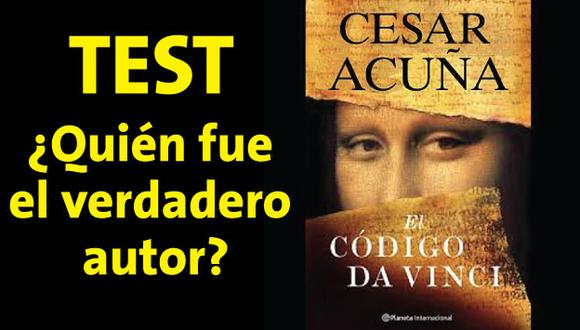 César Acuña no escribió ninguno de estos libros, ¿conoces a los verdaderos autores? [Test]