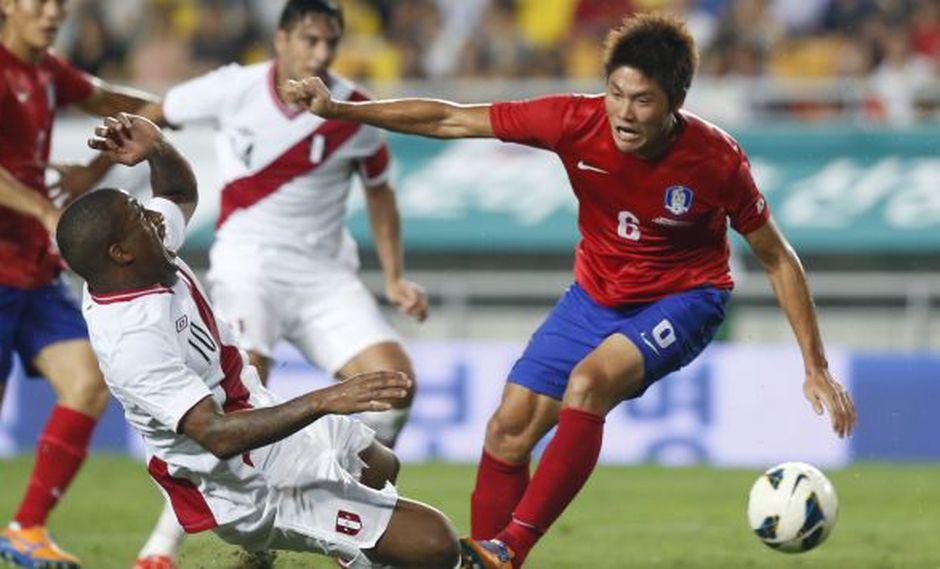 La selección peruana no convenció ante Corea del Sur. (Reuters)