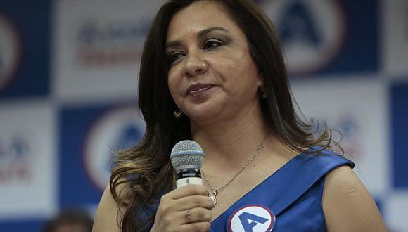 Marisol Espinoza encargada de la presidencia mientras Ollanta Humala realiza visita oficial a Cuba. (USI)