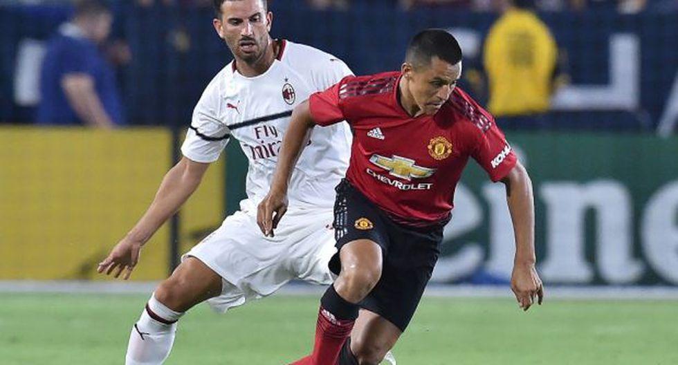 Manchester United y Milan se enfrentan por la International Champions Cup. (Foto: AFP)