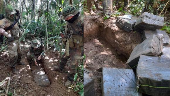Uniformados también destruyeron pistas clandestinas en Cusco. (Foto: Comando Conjunto)