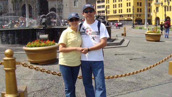 DÍAS DE FELICIDAD. El amor entre Carmen y Miguel comenzó en las aulas de una universidad. (Difusión)
