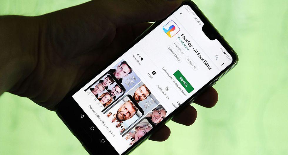 FaceApp de defiende de acusaciones sobre no protección de datos de sus usuarios. (Foto: AFP)