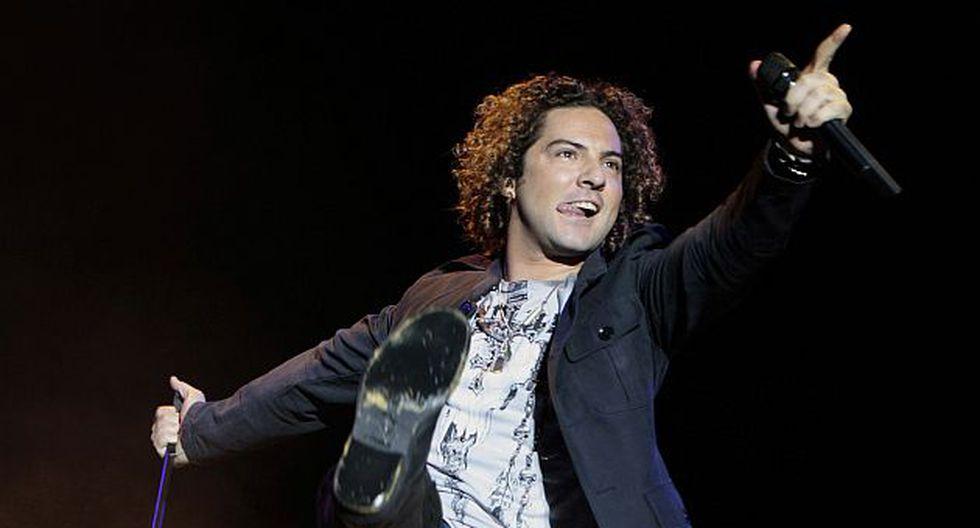 """David Bisbal volvió a la """"normalidad"""" con su disco 'Tú y yo'. (Reuters)"""