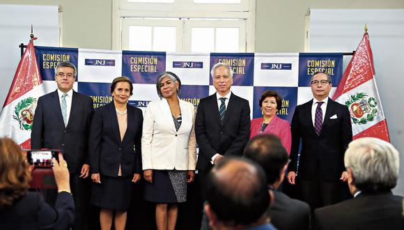 La JNJ llevará adelante el proceso de elección de los nuevos jefes de la ONPE y del Reniec.  (Foto: Alessandro Currarino/GEC)