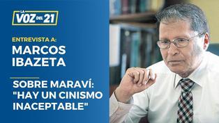 """Marcos Ibazeta sobre Maraví y sus vínculos con el Conare: """"Hay un cinismo inaceptable"""""""
