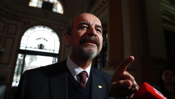 """Según Benigno Chirinos, el Apra aclarará mañana que Mauricio Mulder candidateará como """"invitado"""" en las elecciones parlamentarias del 2020. (Foto: GEC)"""