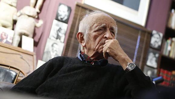 Héctor Becerril expresó que el artista plástico pretende decidir el futuro del país con su opinión. (Luis Gonzales)