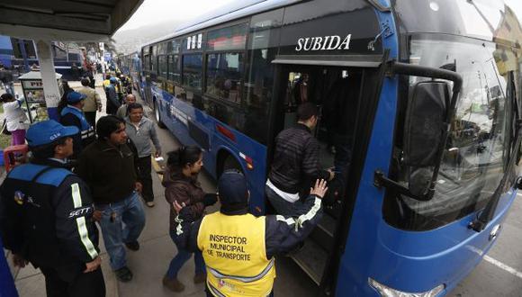 Transportistas del Callao confirman paro de mañana. (César Fajardo)