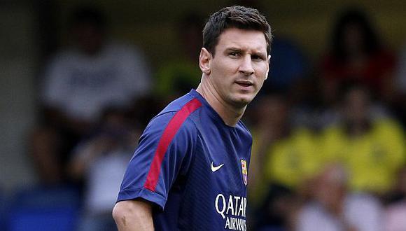 Lionel Messi estaría cansado y saturado mentalmente. (AP)