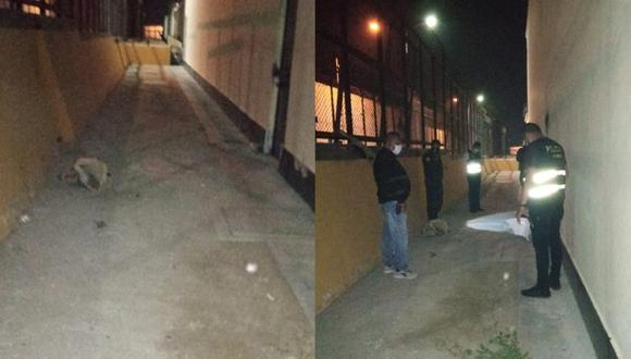 Chimbote: agentes encuentran paquetes con droga abandonados en zonas perimétricas del penal (Foto: INPE)