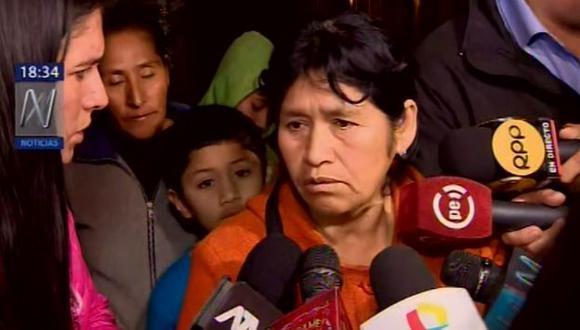 Abuela de Xohana pide justicia para su nieta. (Captura Canal N)